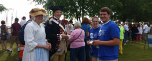 PHC students assisted over 8,000 members of the public on board the Hermione during its first port of call in Yorktown, Virginia.
